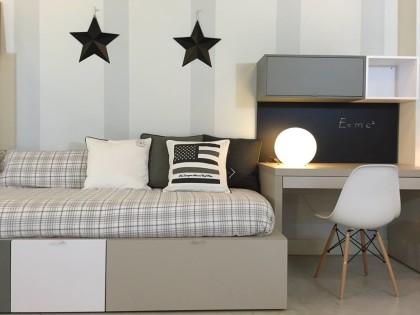Dormitorio juvenil en piedra